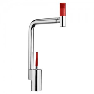 Webert 360 TS920302784 хром/красный для кухни