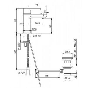 Paini Arena 92CR2112SFTKM хром