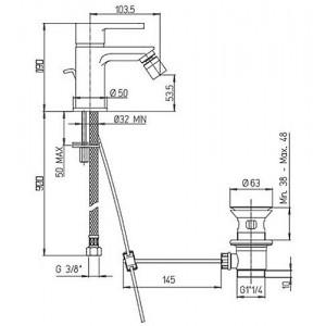 Paini Arena 92CR3062SFTKM хром