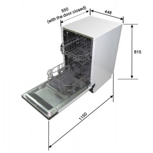 Посудомоечная машина Zigmund & Shtain DW 139.4505 X