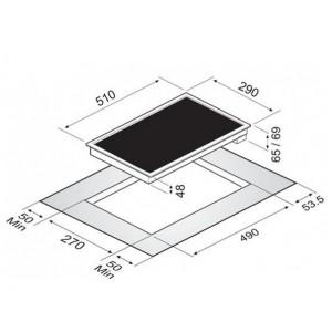 Варочная поверхность Zigmund & Shtain CIS 030.30 BX черный