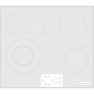 Варочная поверхность Zigmund & Shtain CNS 019.60 WX белый