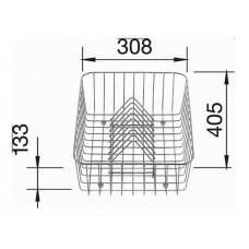 Корзина для сушки посуды 507829