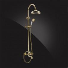 Душевая система Elghansa PRAKTIC Bronze 2302660-2F-Bronze со стационарной лейкой бронза