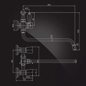 Комплект смесителей Elghansa TOMBERI Tomberi-set1 (2720165+5930065) хром