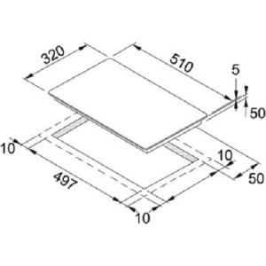 Индукционная варочная поверхность Franke FHFB 302 2I T