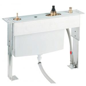 Встроенный термостат Grohe 34086000 для ванны на 4 отверстия, для установки на плиточном бортике