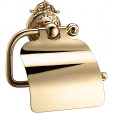 Бумагодержатель с крышкой Hayta 13903-4 Gold