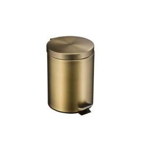 Ведро для мусора с педалью Hayta 13996 Bronze