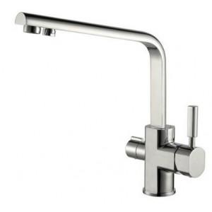 Смеситель Kaiser Decor 40144-5 серебро для кухни