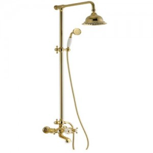 Душевая система Kaiser Antique 90190-3 Gold/мет