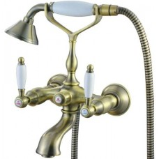 Смеситель Kaiser 31044 An бронза для ванны