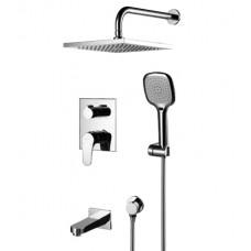 Душевая система Lemark Shift LM4322C для ванны