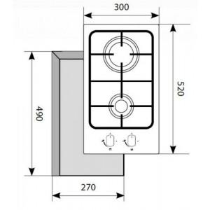 Lex GVS 320 IX нержавеющая сталь