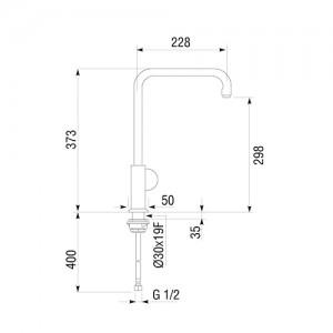 Смеситель Longran AG G61101 [CR] хром