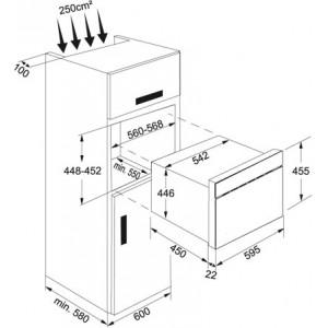 Микроволновая печь Franke FMW 380 CL G GF, графит