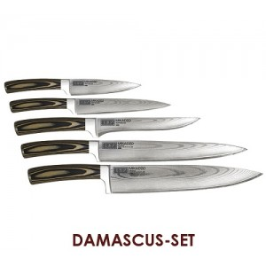 Набор ножей Mikadzo Damascus Set