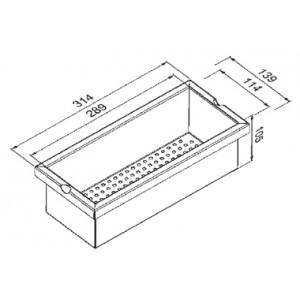 Модуль коландер Reginox Manhattan R1623
