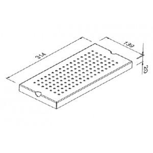 Модуль для сушки стаканов Reginox Manhattan R1637