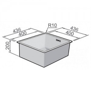 Мойка Rodi Box line 40 under