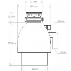 Измельчитель отходов Seaman SLD-370A2