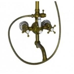 Душевая стойка с изливом Seaman Barcelona SSL-5523 Bronze