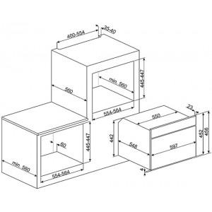 Smeg SF4120MC нержавеющая сталь/стекло Stopsol