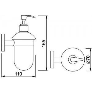 Дозатор для мыла Teka Fiesta 501-1022-00