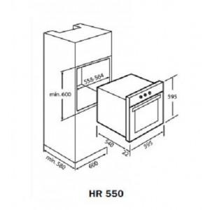 Teka HR 550 Anthracite B