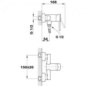 Teka Ares 232310200 для душа, без душевого набора