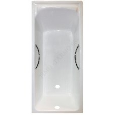 Чугунная ванна Timo Tarmo 3S 170x75x47 (ножки и ручки в комплекте)