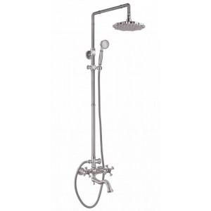 Душевая система Zorg A 7002DS-SL серебро