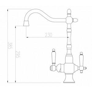 Смеситель Zorg ZR 336 YF-50 Br