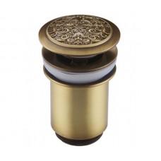 Донный клапан Zorg Antic AZR 2 BR бронза