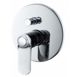 Смеситель BelBagno Bordo BOR-BASM-CRM для ванны и душа хром