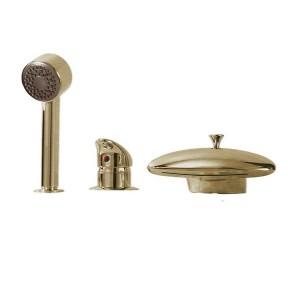 Смеситель для акриловой ванны Boheme Niagara 397, бронза