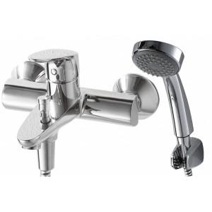 Bravat Drop F64898C-B хром для ванны, с душевым набором