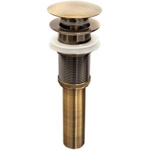 """Донный клапан """"Универсальный"""" Bronze de Luxe 21972 бронза"""