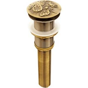 """Донный клапан """"Лотос"""" Bronze de Luxe 21976 бронза"""