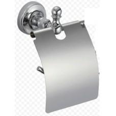 Ganzer GZ 31030 настенный держатель туалетной бумаги с крышкой хром