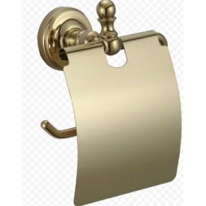 Ganzer GZ 31030D настенный держатель туалетной бумаги с крышкой бронза