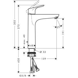Смеситель Hansgrohe Focus HG-31608000 для раковины хром