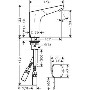 Смеситель Hansgrohe Focus HG-31171000 для раковины хром