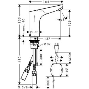 Смеситель Hansgrohe Focus HG-31174000 для раковины хром