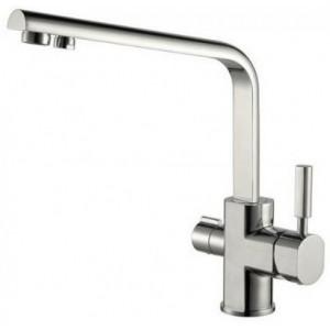 Смеситель Kaiser Decor 40144-5 никель для кухни