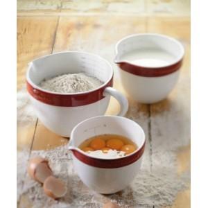 Набор керамических чаш KitchenAid KBLR03NBER красный