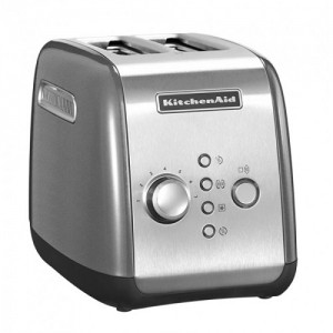 Тостер KitchenAid 5KMT221ECU серебристый