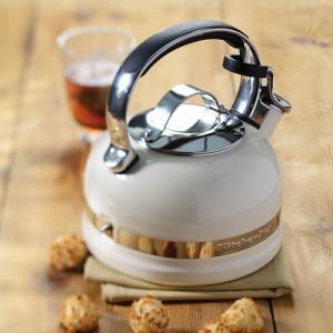 Чайник Kitchenaid KTEN20SBAC кремовый, для плиты