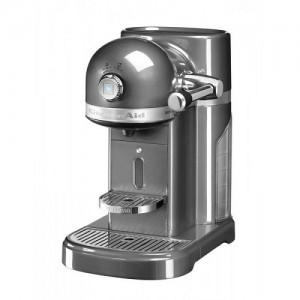 Кофемашина KitchenAid Nespresso 5KES0503EMS серебряный медальон