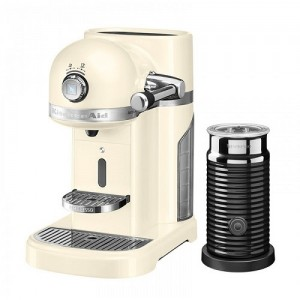 Кофемашина KitchenAid Nespresso 5KES0504EAC+ Aeroccino кремовый